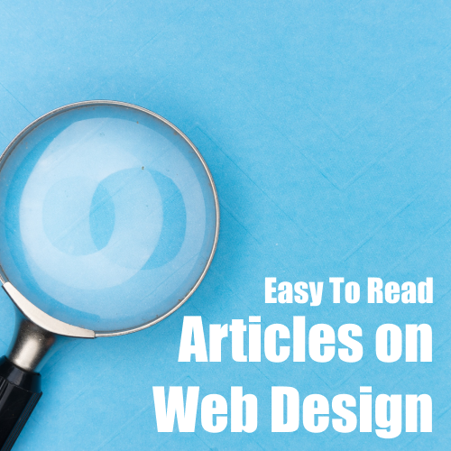 Easy To Read Articles On Web Design