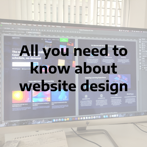 All You Need To Know About Website Design
