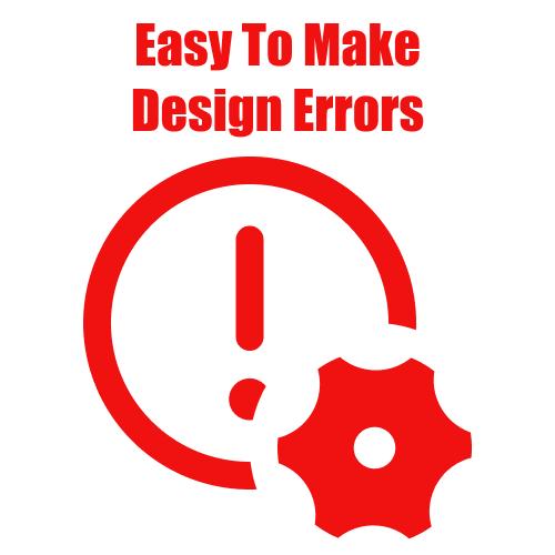 Easy To Make Web Design Errors